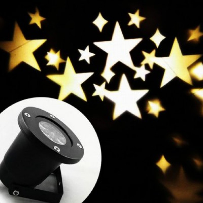 100 - 240V 4W LED Waterproof Star Light