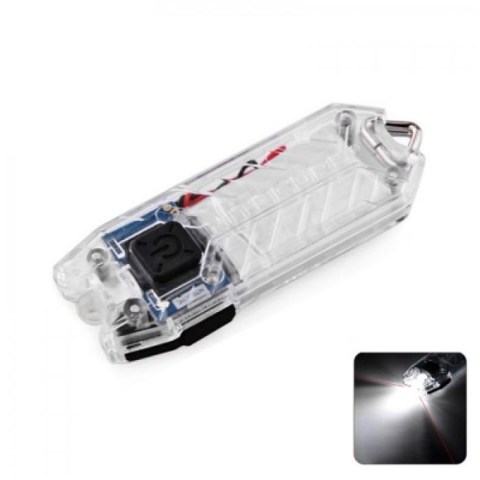Nitecore TUBE 45Lm 2 Modes USB Rechargeable LED Keychain Light Flashlight