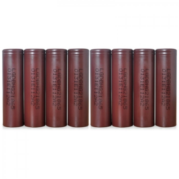 8 x HG2 3000mAh 3.6V 20A 18650 Rechargeable Lithiu...