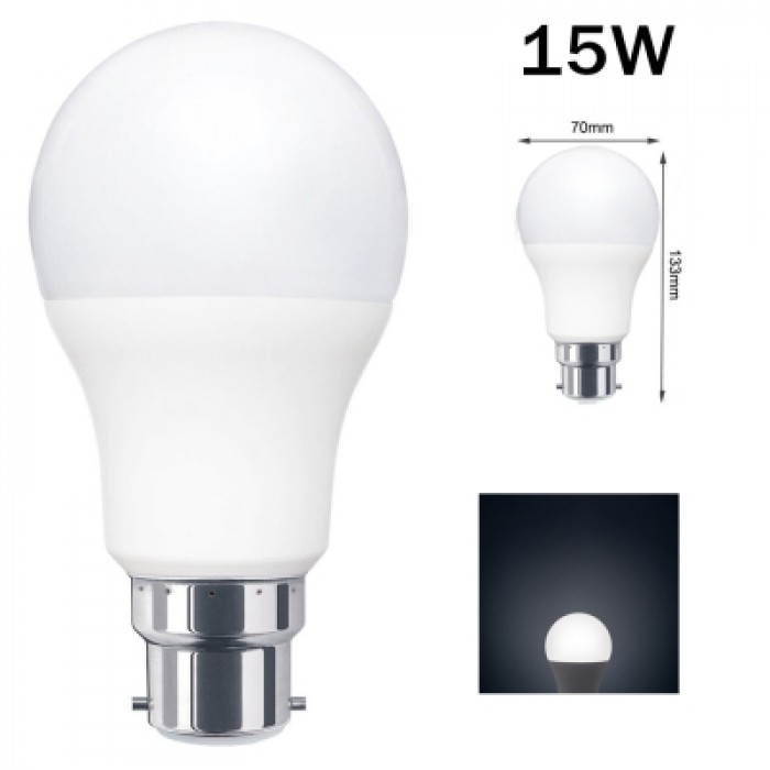 B22 E27 5/7/9/12/15W LED Globe Light Lamp Plastic Aluminum Energy Saving Bulb AU
