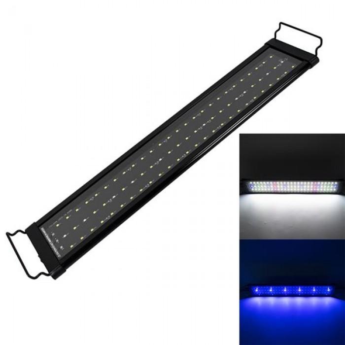 [US-W]18W 78LED Full Spectrum Water Grass Lamp 23.6inch Black US Standard ZC001220 (Suitable For 23.6-31.49inch Long Aquarium)
