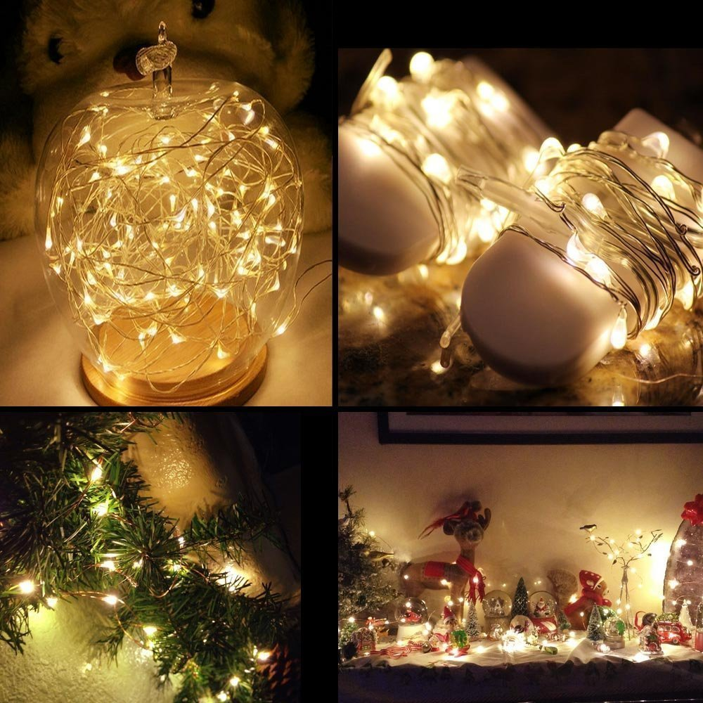 BRELONG 3m30LED Copper wire string lights For Christmas Indoor Decorations 1pcs
